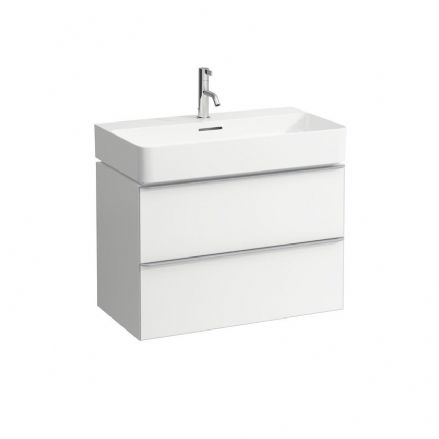 810285 - Laufen Val 750mm x 420mm Washbasin & Space Vanity Unit - 8.1028.5